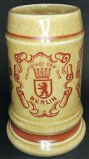 New listing East Berlin Stein Hauptstadt der ddr Berlin Beer Mug Veb Steingutwerx Torgau