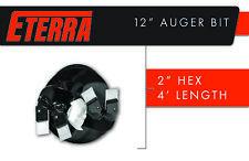 """Post Hole Digger Bit - Eterra Auger Bit - 12"""" - Premium Auger Bit"""