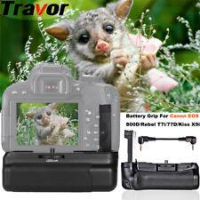 Battery Grip For Canon EOS 800D / 77D / Rebel T7i / Kiss X9i DSLR Digital Camera