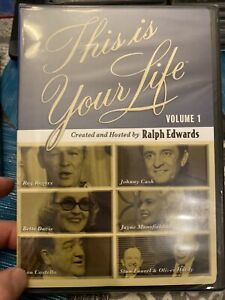 NEW DVD: This Is Your Life Volume 1 Hosted By Ralph Edwards