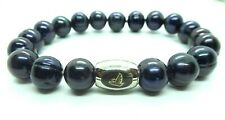 NFL New Atlanta Falcons Women's Honora 10.5 MM Pearl Bracelet 6.5 INCHES Long