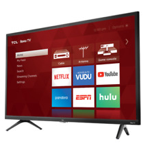 "Smart LED LCD HDTV TCL 32"" Inch HD 720P 60hz TV w/ 3 HDMI 32S321 Stands"