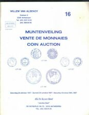 Boekje ,Willem van Alsenoy ,Muntenveiling ,Vente de Monnaies Coin Auction Nr 16