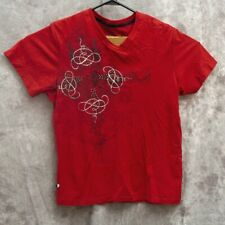 Marc Ecko Mens Studded T Shirt Size M Red