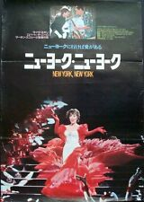 NEW YORK NEW YORK Japanese B2 movie poster SCORCESE ROBERT DE NIRO LIZA MINNELLI