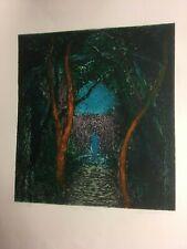 John Hubbard Signed Ltd Edition Print Signed x/35 Stanley JOnes Curwen Press