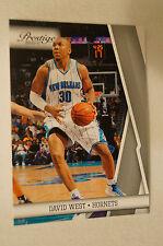 NBA CARD - Panini - Prestige Series - David West - Hornets
