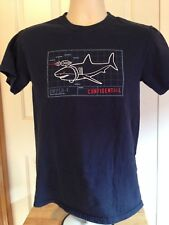 VINTAGE SWFLB-1 SHARK CONFIDENTIAL T SHIRT SMALL