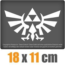 Triforce 18 x 11 cm JDM Decal Sticker Aufkleber Racing Die Cut