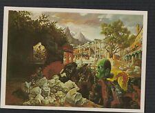 Benito Mussolini. Peter Blume Eternal City 1982 New York Art  postcard  f274