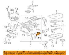 GM OEM Passenger Seat-Adjust Motor 13578637