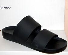 Vince Men's Mariner Slide Black Flip Flop Sandal Shoes Size  US 12 EU 46 NEW