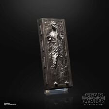 40TH Anniversary 6 Inch Han Solo Carbonite + Stand Black Series Star Wars .LOOSE