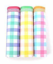 Men's 3pc.Multi Color Plaid Handkerchiefs (MFB1553)