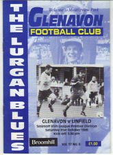 1998/99 Glenavon v Linfield - Irish League - 31st Oct - Vol 17 No 8