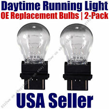 Daytime Running Light Bulbs 2pk OE Replacement On Listed GMC & Ford - 3157