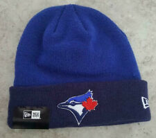AUTHENTIC New Era TORONTO BLUE JAYS Cuff Knit Winter Hat New With Tags $20 MLB