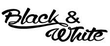 Aufkleber Black & White Auto Car Scene Style Sticker Tuning JDM boot bike lkw