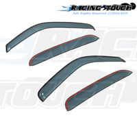For Toyota Tacoma Crew Cab 00-04 Ash Grey Out-Channel Window Visor Sun Guard 4pc