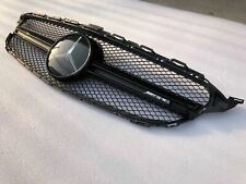 Fit Mercedes Benz C Class W205 C200 C250 15-18 C63 AMG Style Front Grill Grille
