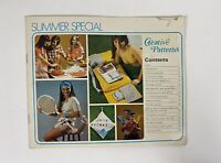 1970's Creative Pattern Booklet Summer Special