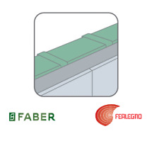 RACCORD TUBE RECTANGULAIRE TR POUR HOTTE 1500X220X60MM FABER