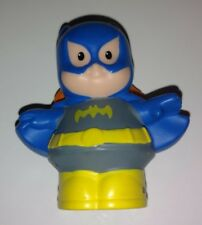 FISHER PRICE LITTLE PEOPLE DC Super Friends Batgirl Bat GIRL Hero BATWOMAN