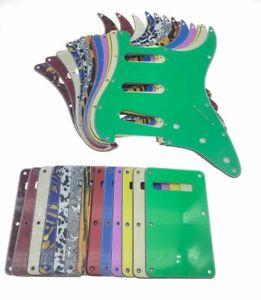 USA Spec Guitar SSS Pickguard Tremolo Cover For Fender Strat Stratocaster
