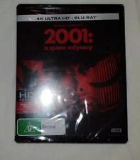 A 2001 - Space Odyssey 4K (Blu-ray, 2018, 3-Disc Set) Brand New & Sealed