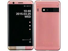 KYOCERA KYV33 INFOBAR A03 ANDROID 4K METAL PHONE UNLOCKED JAPAN SAKURA PINK NEW
