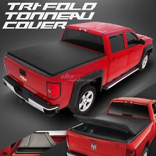 PICK-UP TRUCK TRI-FOLD VINYL TONNO TONNEAU COVER FOR 97-04 F150 6.5' SHORT BED