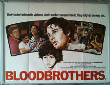 Cinema Poster: BLOODBROTHERS 1978 (QUAD) Paul Sorvino Tony Bianco Richard Gere
