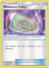 x4 Weakness Policy - 126/147 - Uncommon Pokemon SM3 Burning Shadows M/NM English