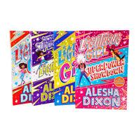 Alesha Dixon 4 Books Set Collection Secret Superpower Showdown, Lightning Girl
