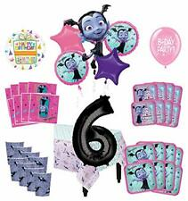 Mayflower Products Vampirina 6th Birthday Party Supplies 16 Guest Decoration Kit