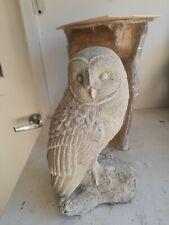 "Latex and fiberglass backer new owl mold 10.5"" tall ready to ship"