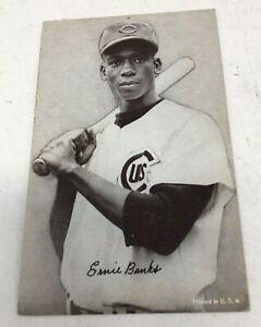 1947-66 Exhibits Set Break # Ernie Banks