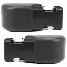 NEW FRONT BUMPER END CAPS GUARDS SET RH & LH FOR 1997-2006 JEEP WRANGLER