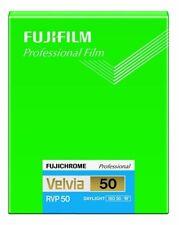NEW FUJIFILM CUT VELVIA50 NP 4X5 20 FUJICHROME Professional Velvia 50 from JAPAN