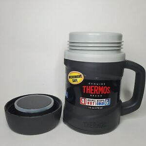 Thermos Vacuum Insulated Double Wall Hot Cold Microwavable Food Jar 16 oz