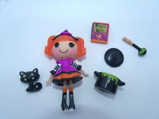 Lalaloopsy Mini Doll CANDY BROOMSTICKS COMPLETE Witch Halloween Target Exc HTF