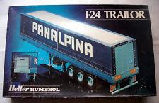 Maquette HELLER HUMBROL 1/24 - REMORQUE TRAILER CAMION PANALPINA / DANZAS
