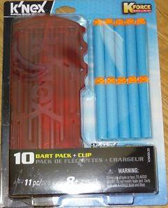 K-Force 10 Dart Pack + Clip for Flash FireMotorized Blaster K'NEX KNEX