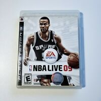 NBA Live 09 (Sony PlayStation 3, 2008) PS3 Complete with Manual