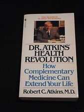 DR. ATKINS HEALTH REVOLUTION -- PB Robert C. Atkins health well-being 1990