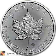 CANADA 5 Dollars 2016 Maple Leaf 1 Onza de plata (S/C)