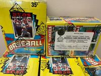 1986 Topps Baseball Wax Box BBCE Authentic FASC From a Sealed Case