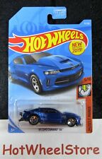2019  Hot Wheels  Blue  '18 COPO CAMARO SS  Card #71  HW22-051619