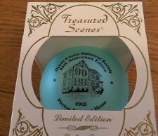 Ocean County Historical Society 55th Pierson-Sculthorp House Christmas Ornament