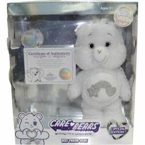 2021 Care Bear Unlock The Magic Best Friend Bear Crystal Plush Limited Edition
